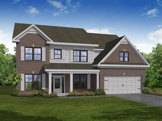 Turnbridge by Chafin Communities:Elevation B