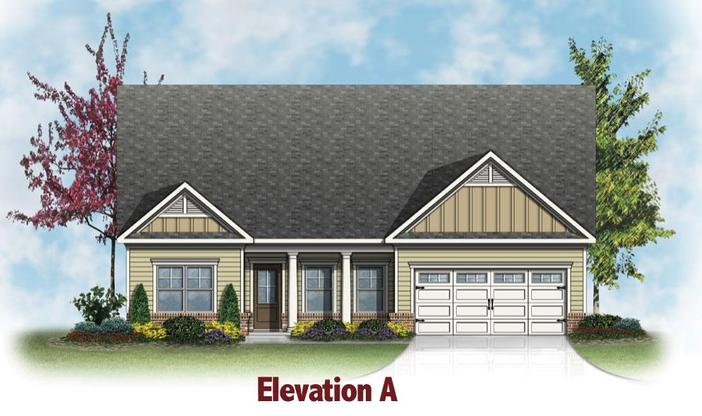 Westminster by Chafin Communities:Elevation A