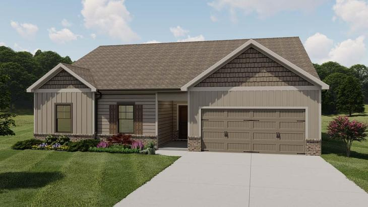 Denton by Chafin Communities:Elevation D