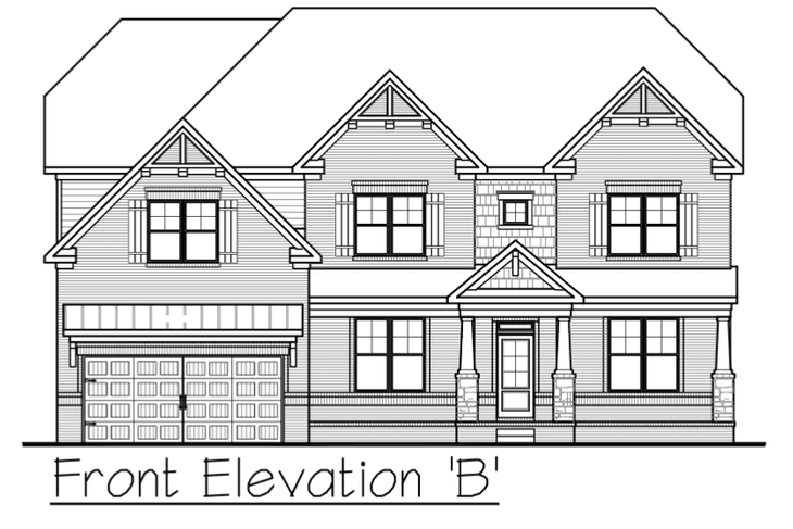 Avalon:Front Elevation B