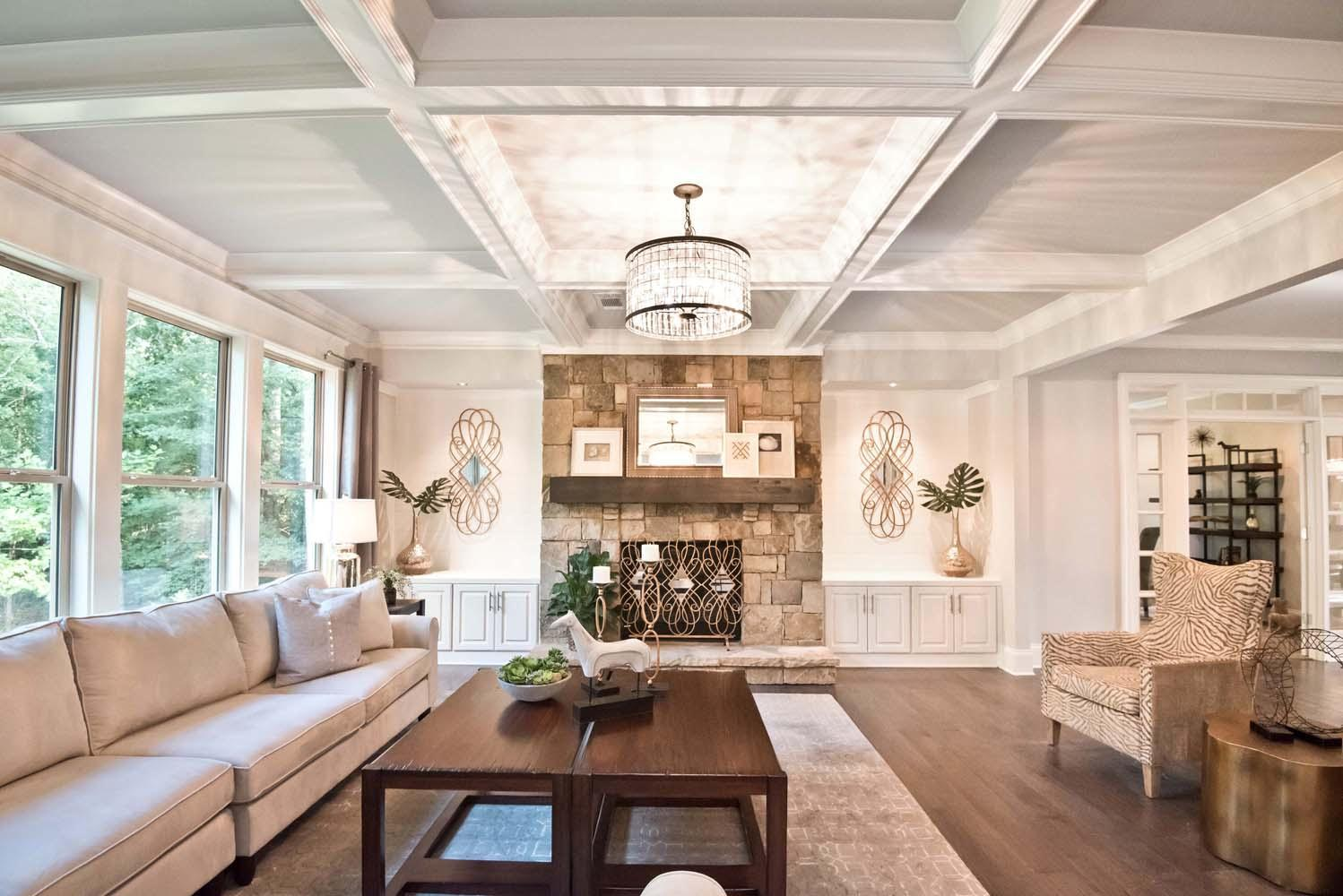 Living Area featured in the Barkley By Chafin Communities in Atlanta, GA