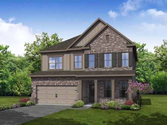 Lenox by Chafin Communities:Elevation B