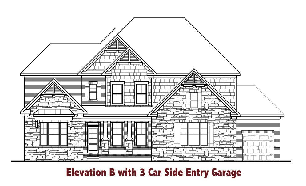 Exterior featured in the Barkley By Chafin Communities in Atlanta, GA