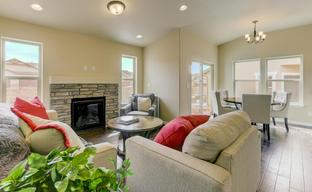 Mountain Vista Luxury Paired Patio Homes by Challenger Homes in Colorado Springs Colorado