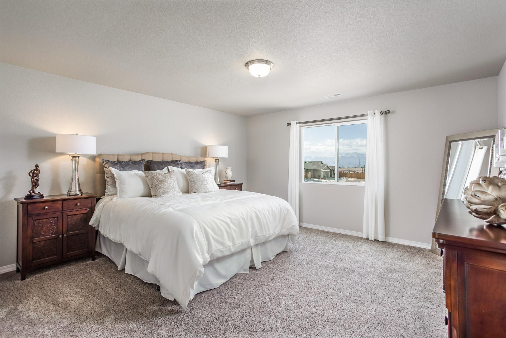 Bedroom featured in the Van Buren By Challenger Homes in Colorado Springs, CO