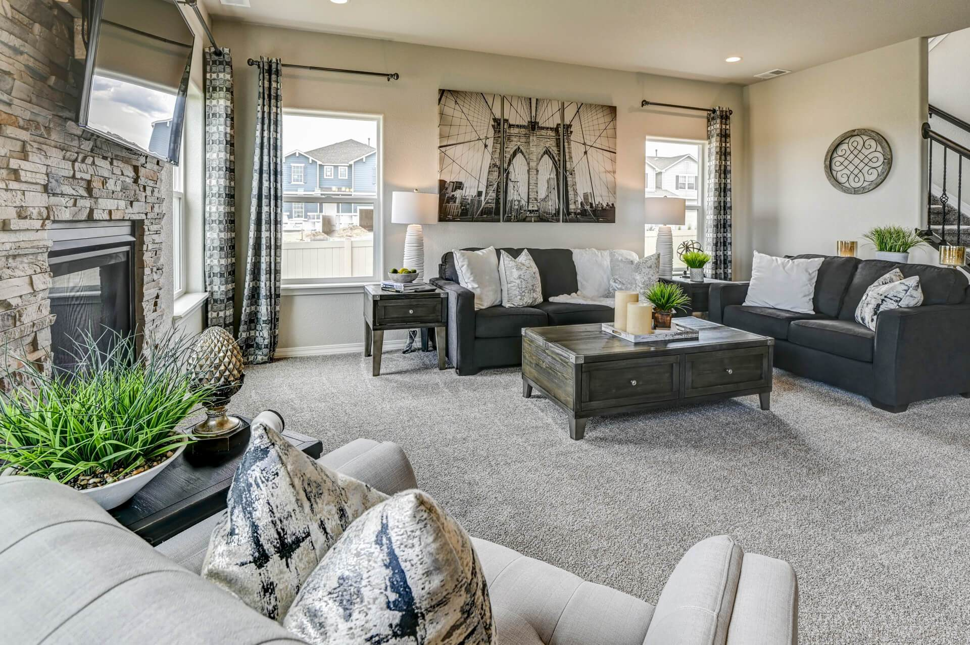 Living Area featured in The Charleston By Challenger Homes in Fort Collins-Loveland, CO