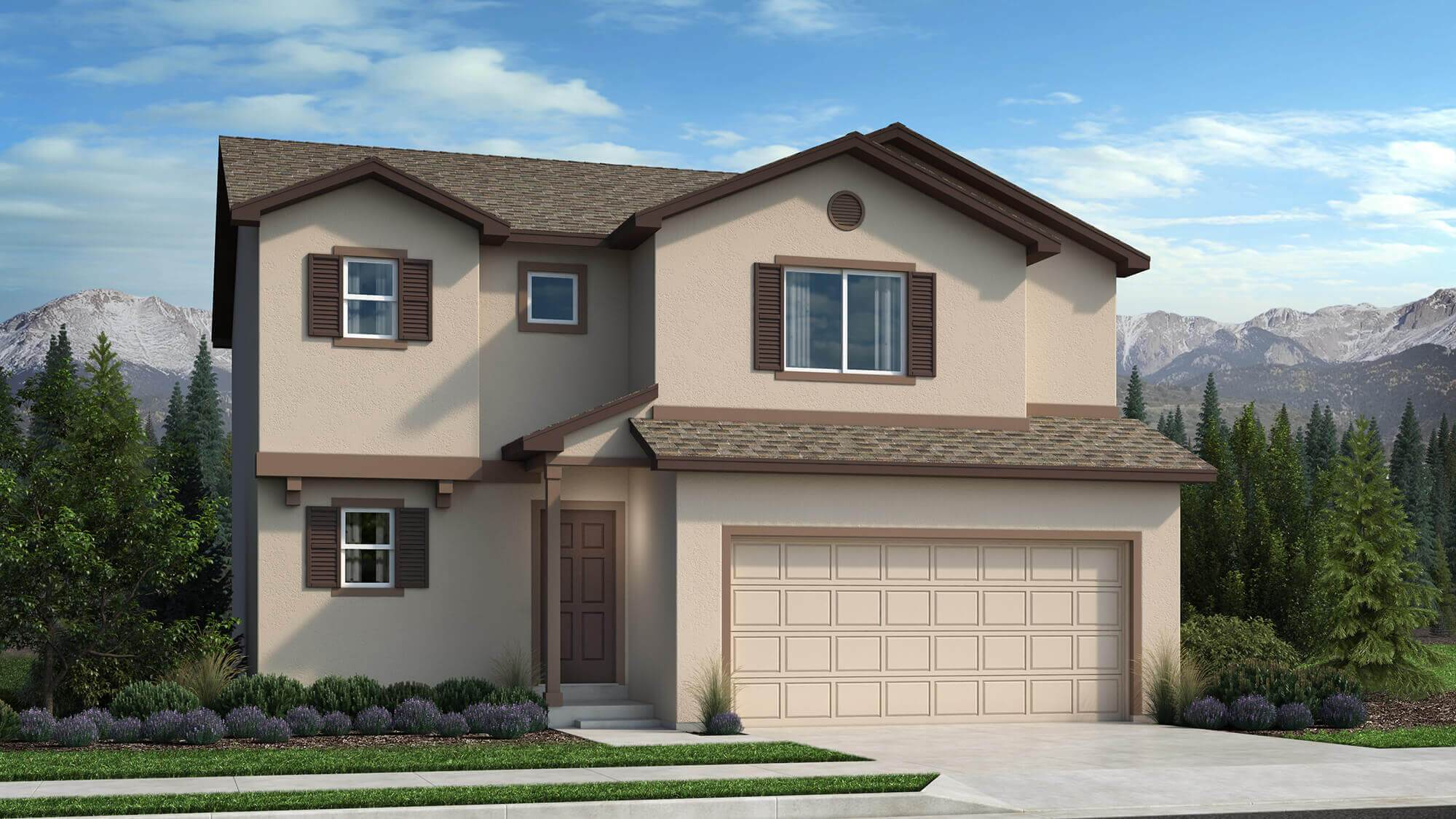 Exterior featured in The Reagan By Challenger Homes in Colorado Springs, CO