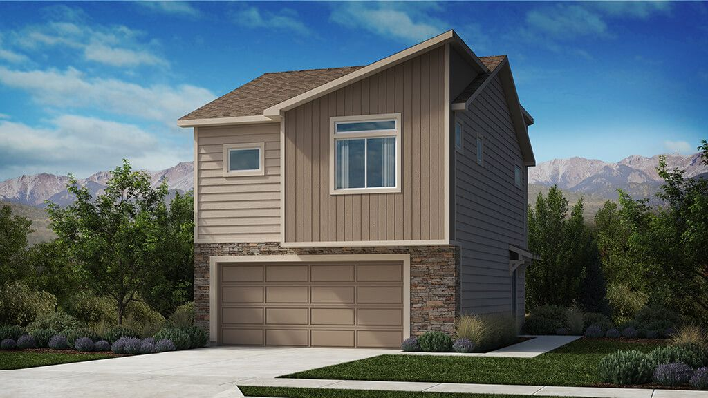 Exterior featured in The Gladstone By Challenger Homes in Colorado Springs, CO
