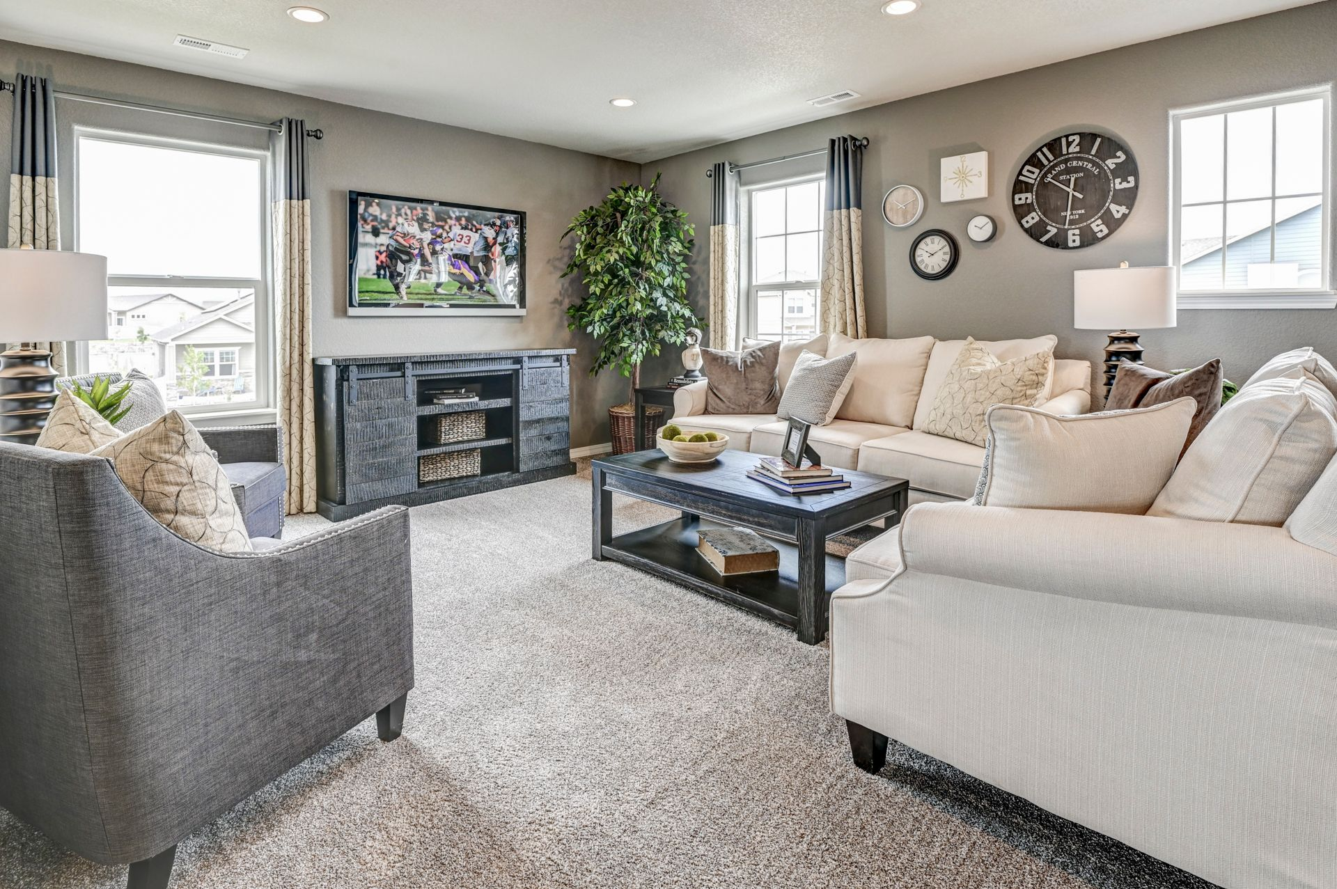 Living Area featured in The Charleston By Challenger Homes in Colorado Springs, CO