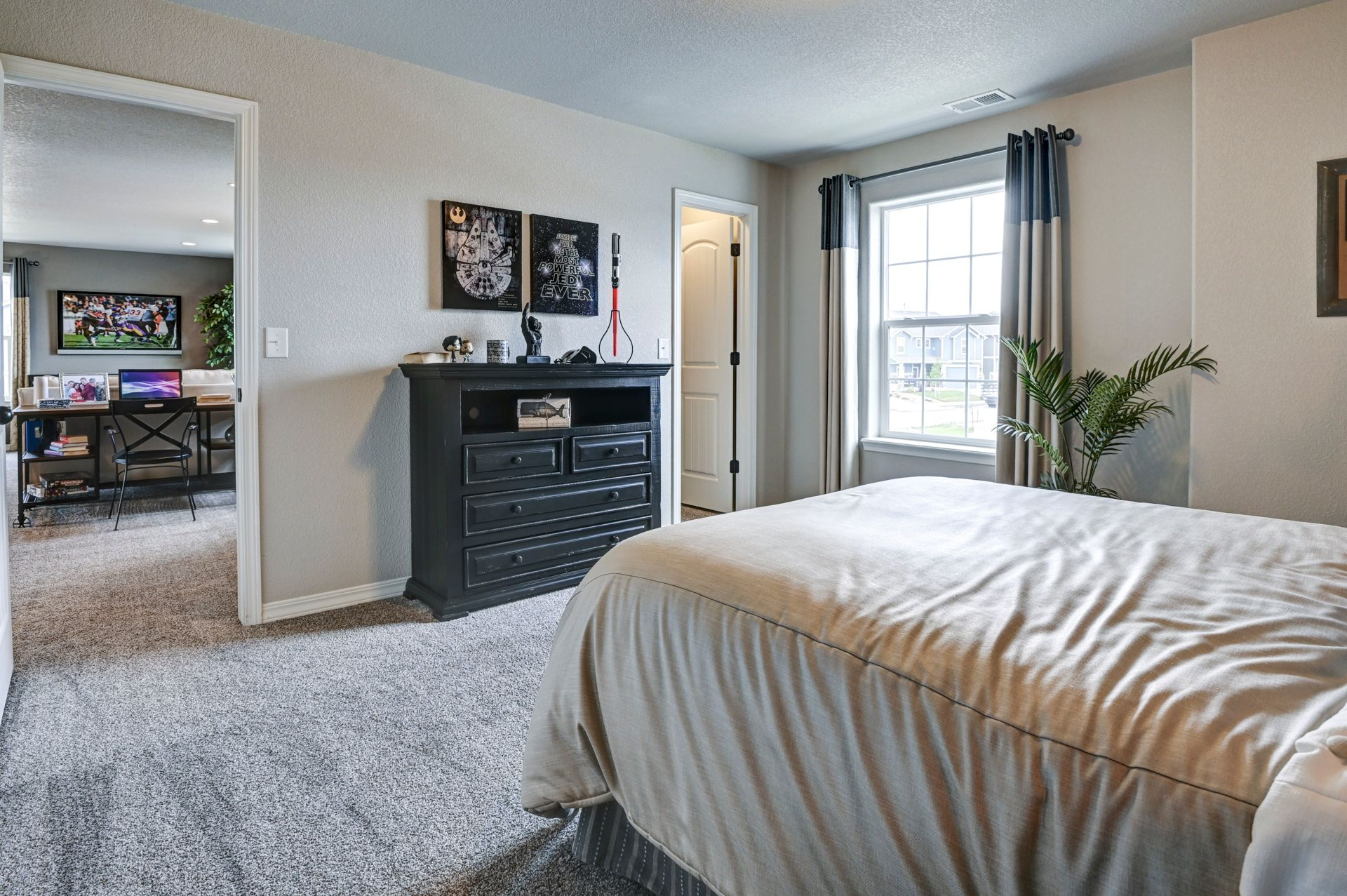 Bedroom featured in The Charleston By Challenger Homes in Colorado Springs, CO