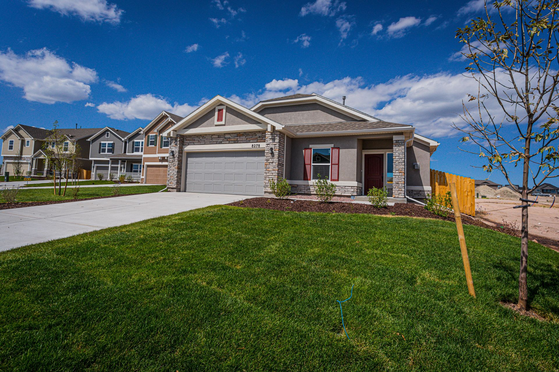 Exterior featured in The Savannah By Challenger Homes in Fort Collins-Loveland, CO