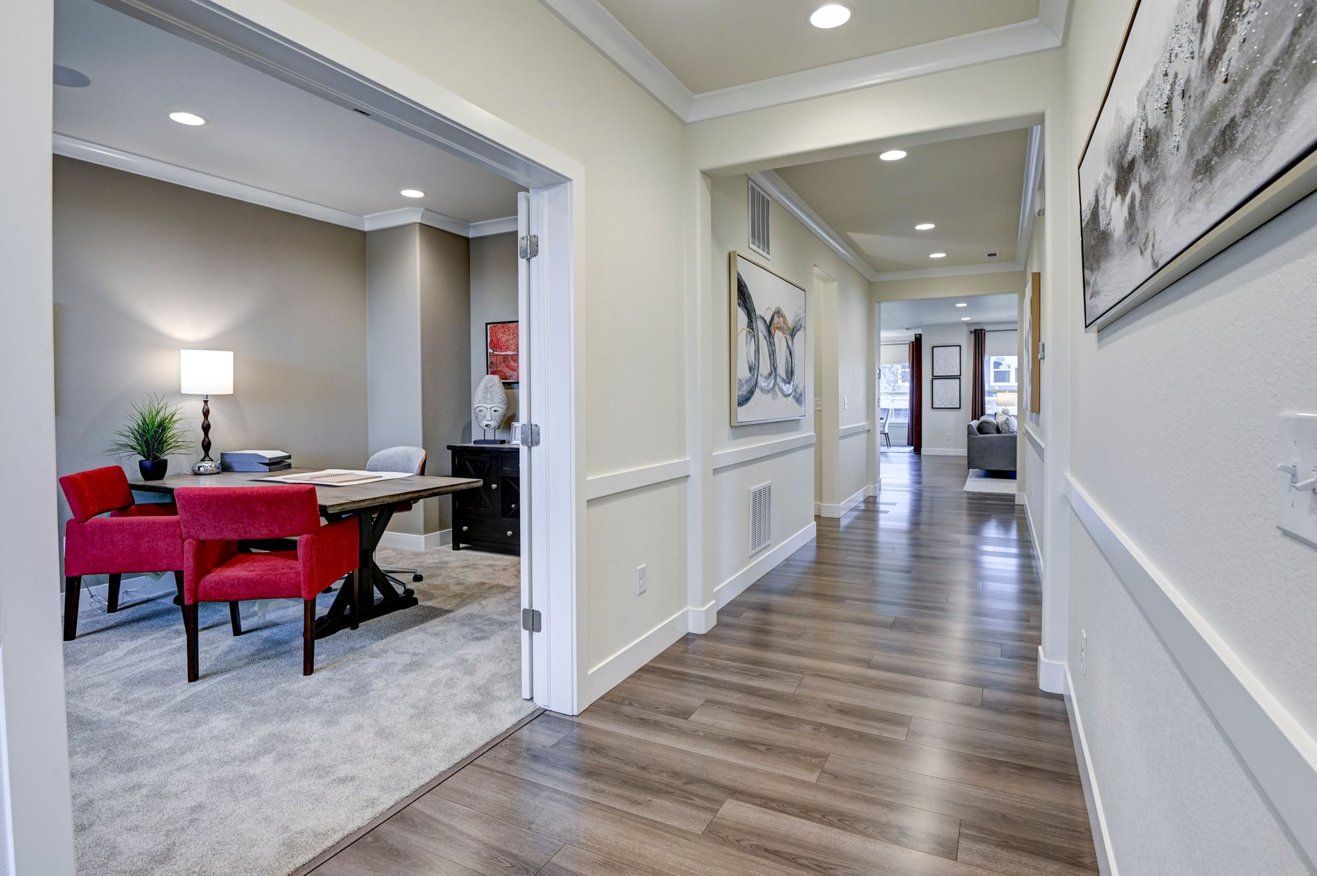 Living Area featured in The Mont Blanc By Challenger Homes in Colorado Springs, CO