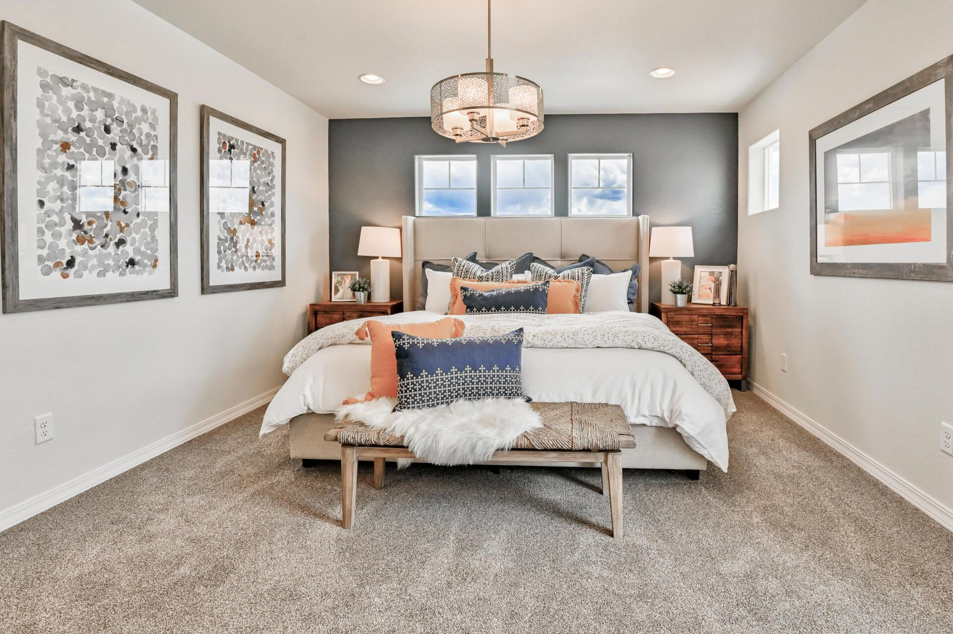 Bedroom featured in The Rio By Challenger Homes in Colorado Springs, CO