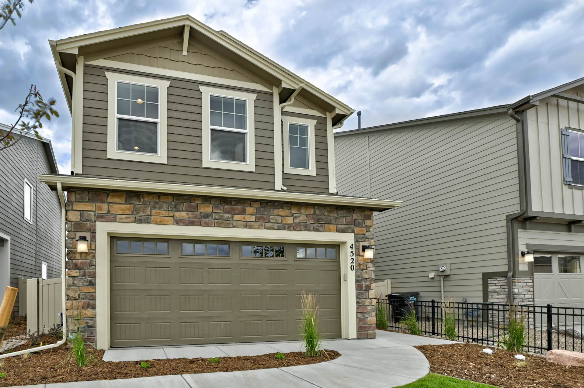 Exterior featured in The Sydney By Challenger Homes in Colorado Springs, CO