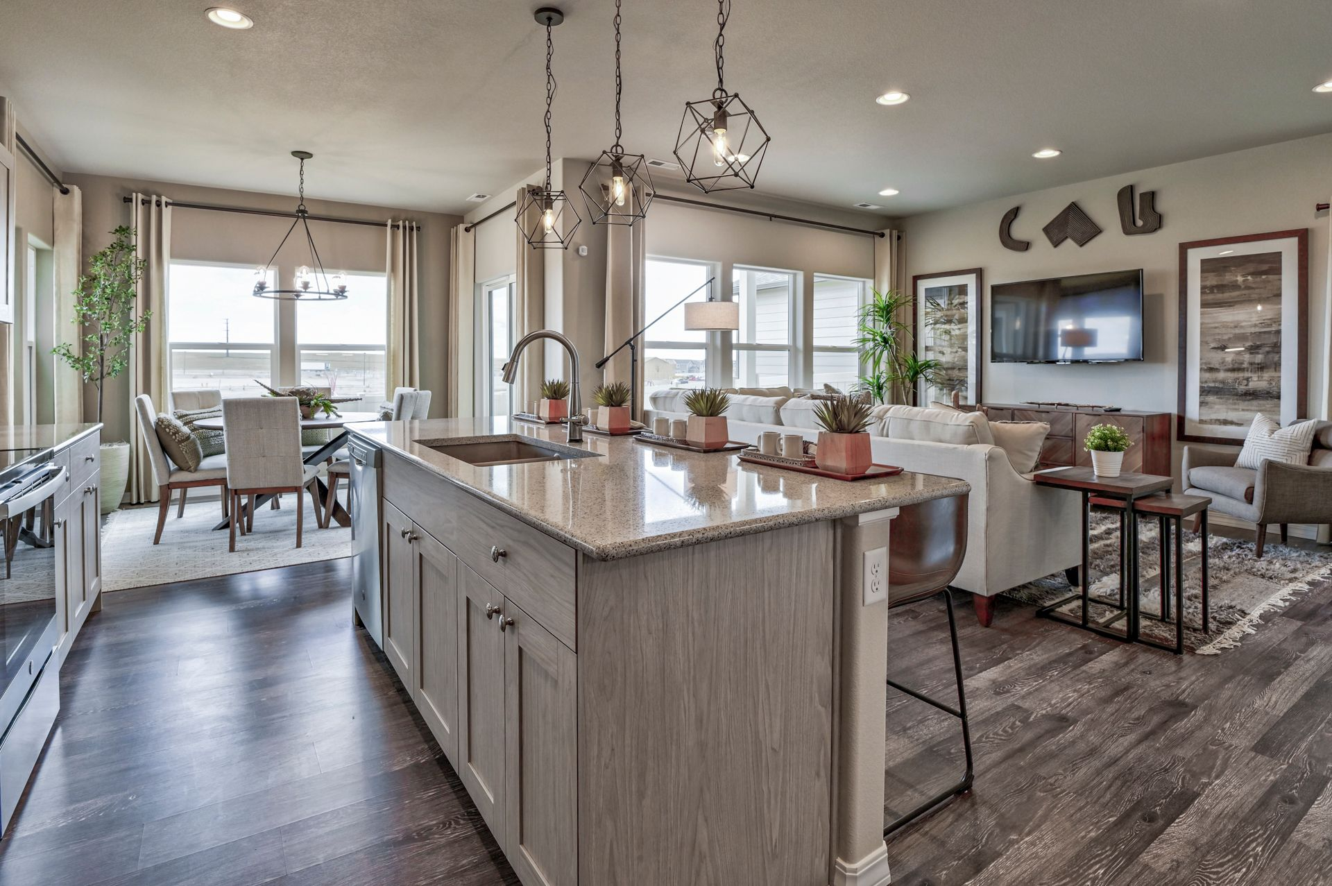 Living Area featured in The Sydney By Challenger Homes in Colorado Springs, CO