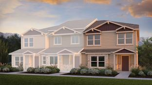 The Wexford - The Townes at Chapel Heights: Colorado Springs, Colorado - Challenger Homes