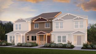 The Waterford - The Townes at Chapel Heights: Colorado Springs, Colorado - Challenger Homes