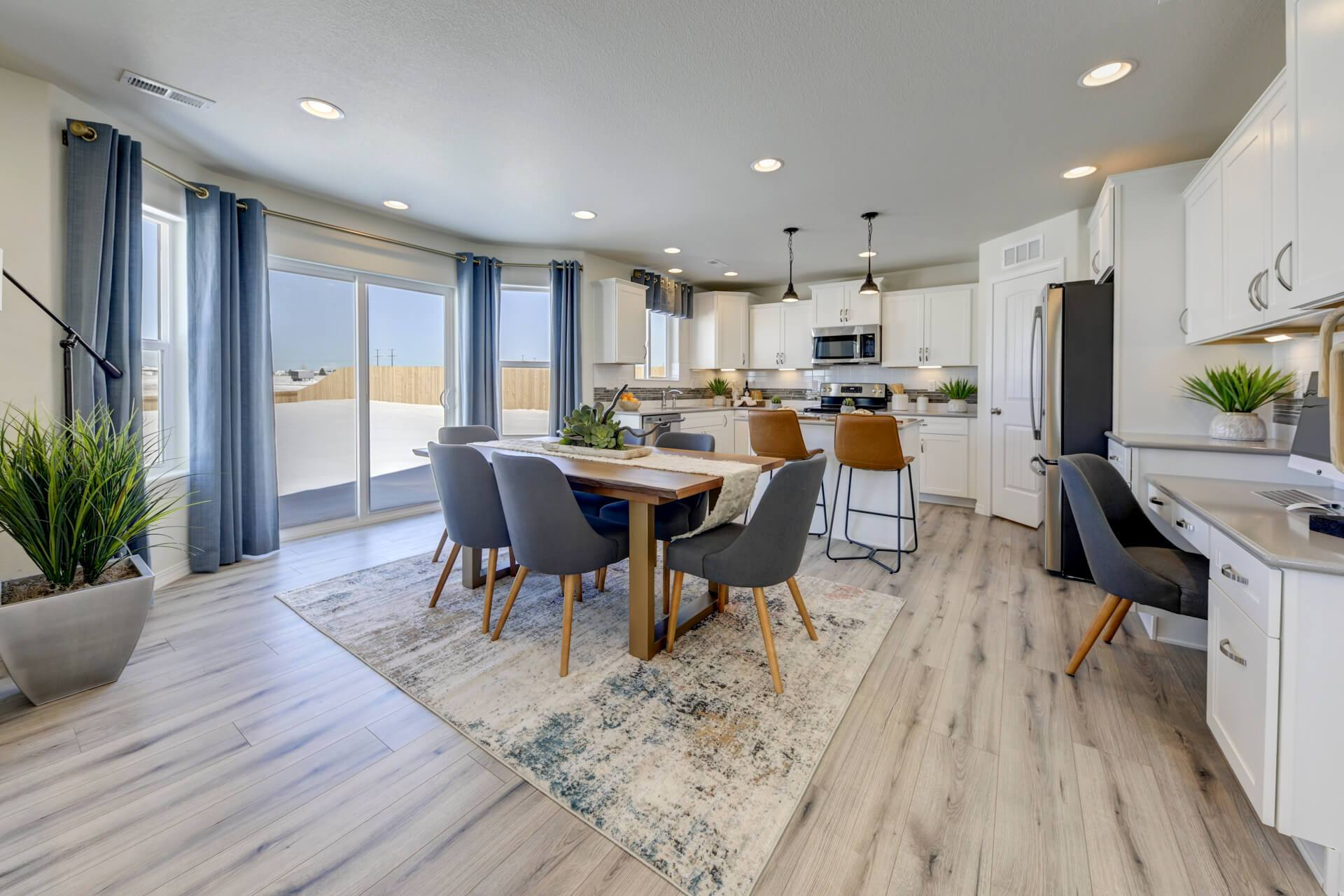 Kitchen featured in The Van Buren By Challenger Homes in Colorado Springs, CO