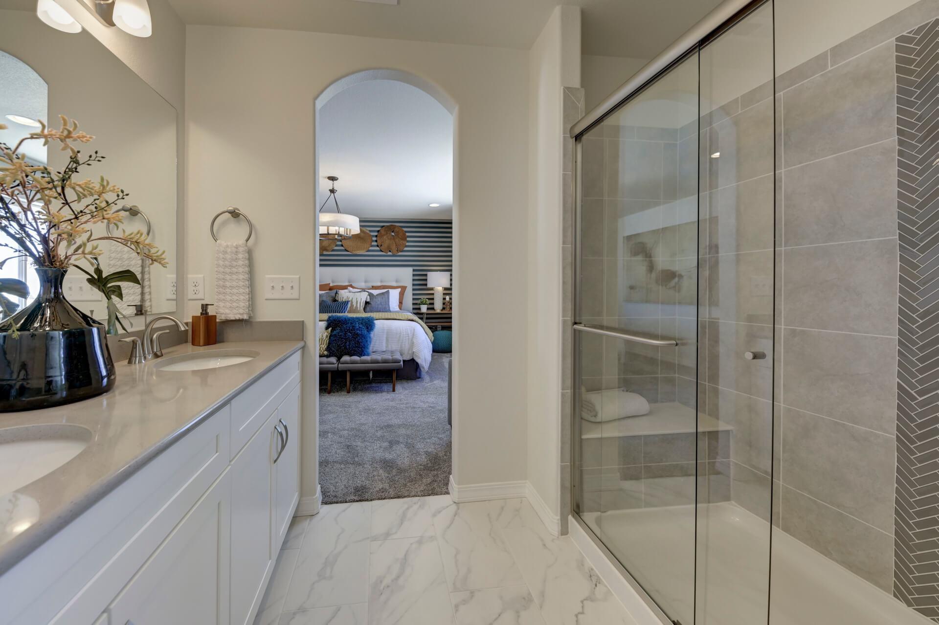 Bathroom featured in The Van Buren By Challenger Homes in Colorado Springs, CO