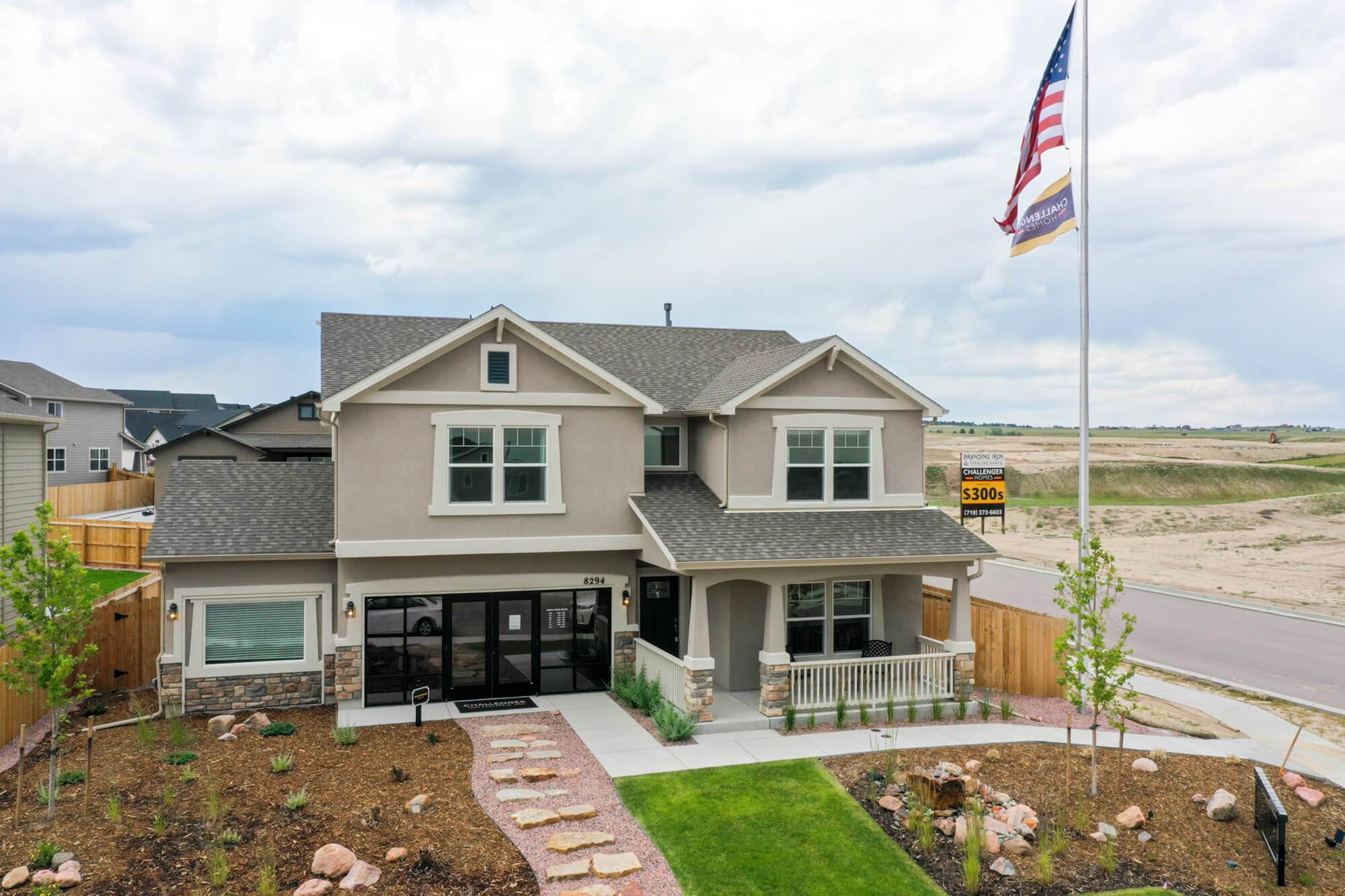 'Branding Iron at Sterling Ranch' by Challenger Homes in Colorado Springs
