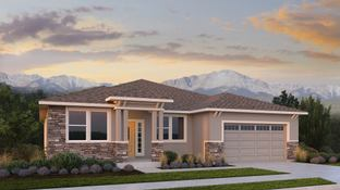 The Mont Blanc - Revel at Wolf Ranch: Colorado Springs, Colorado - Challenger Homes