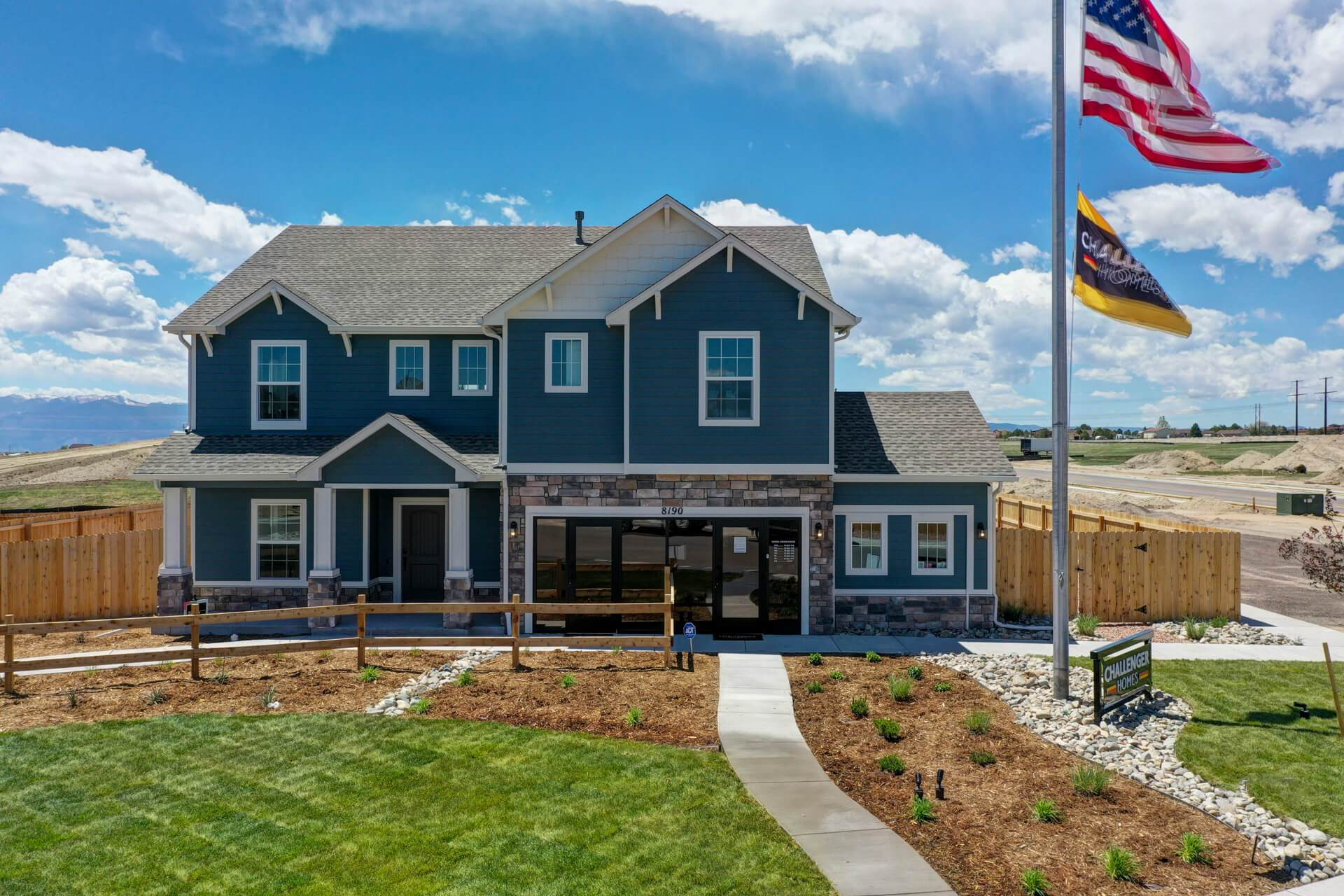 'Falcon Meadows at Bent Grass' by Challenger Homes in Colorado Springs