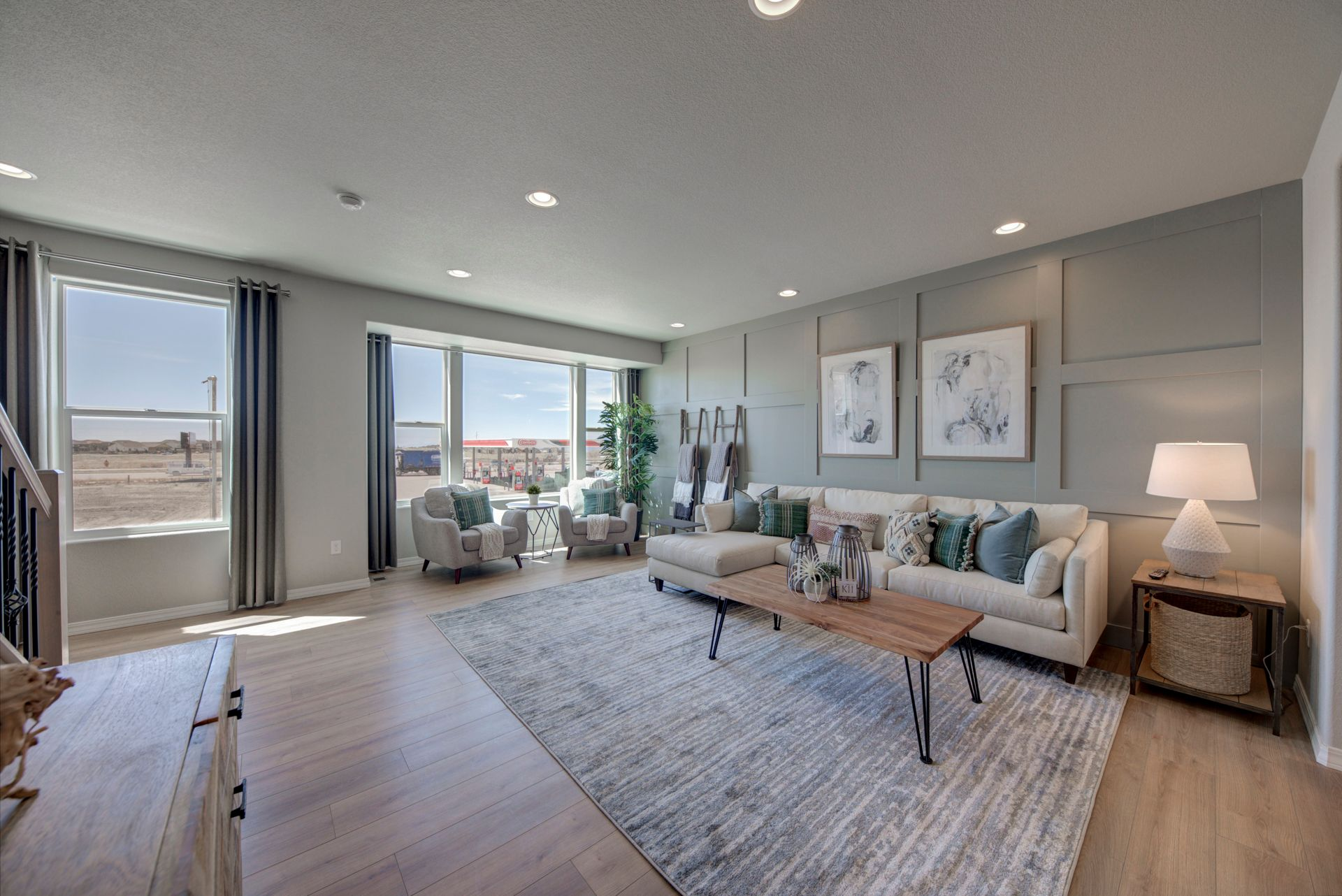 Living Area featured in The Denali By Challenger Homes in Colorado Springs, CO