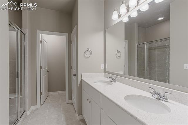 Bathroom featured in The Vancouver By Challenger Homes in Colorado Springs, CO