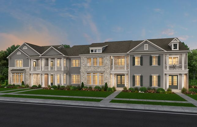 Savannah:Providence Village Townhome Building Example