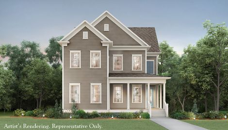 Mccullough in pineville nc new homes floor plans by for John wieland homes floor plans