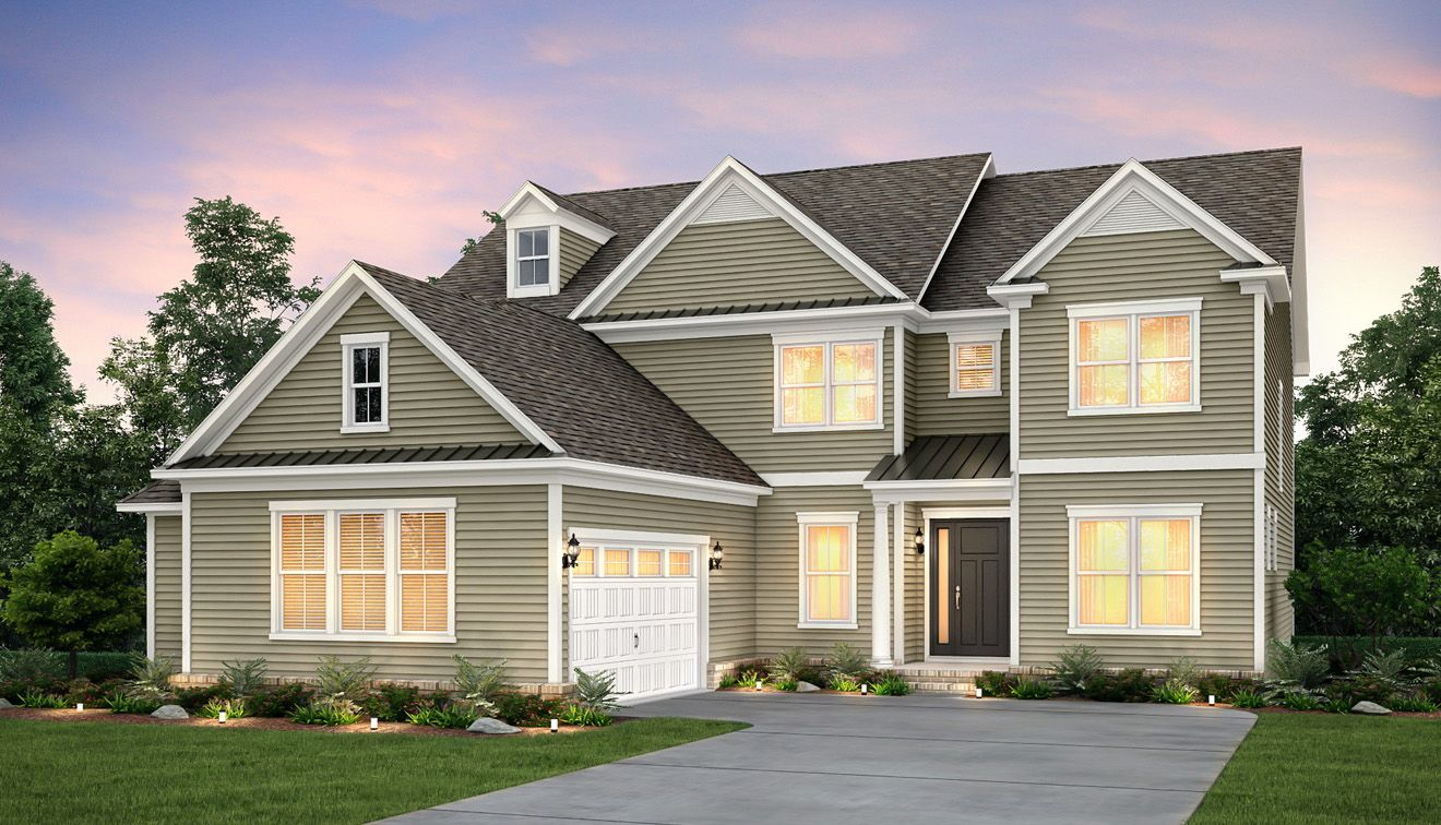 New Construction Homes And Floor Plans In Mcadenville Nc