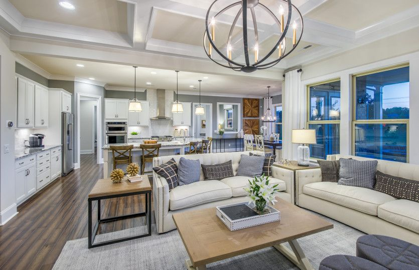 Living Area featured in the Fearington By John Wieland Homes in Charlotte, NC