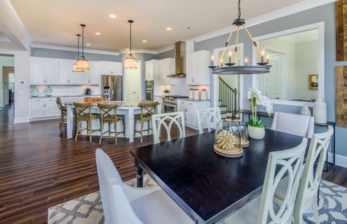 Kitchen-in-Fearington-at-Gates at Ansley-in-Waxhaw
