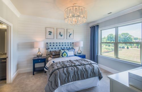 Bedroom-in-Fearington-at-Gates at Ansley-in-Waxhaw