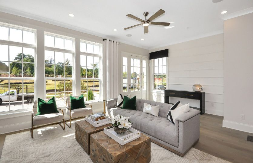 Living Area featured in the Bainbridge By John Wieland Homes in Charlotte, NC