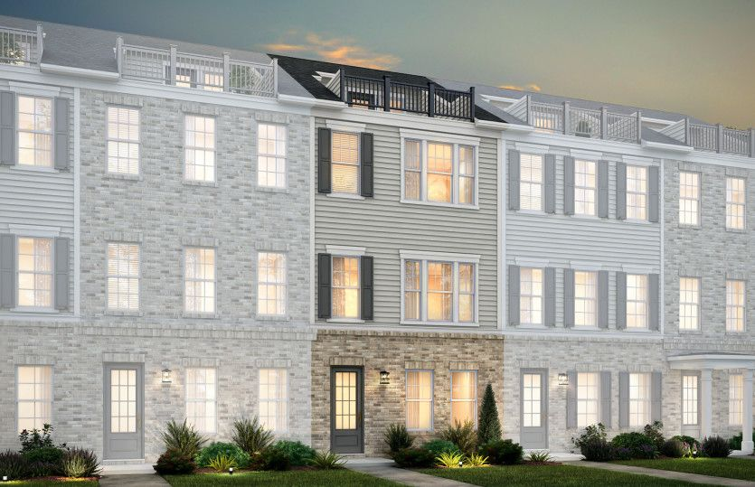 Exterior featured in the Broxton By John Wieland Homes in Charlotte, NC