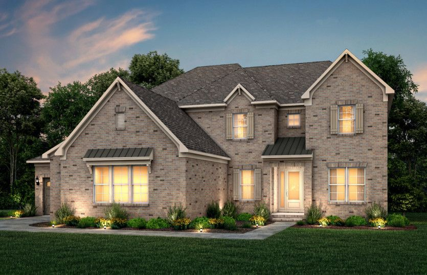Exterior featured in the Hampton By John Wieland Homes in Charlotte, NC