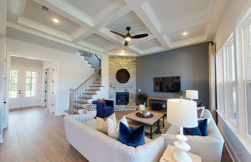 Living Area featured in the Hampton By John Wieland Homes in Charlotte, NC