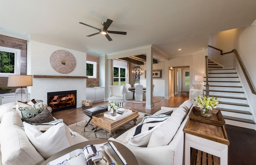 Living Area featured in the Wallace By John Wieland Homes in Atlanta, GA