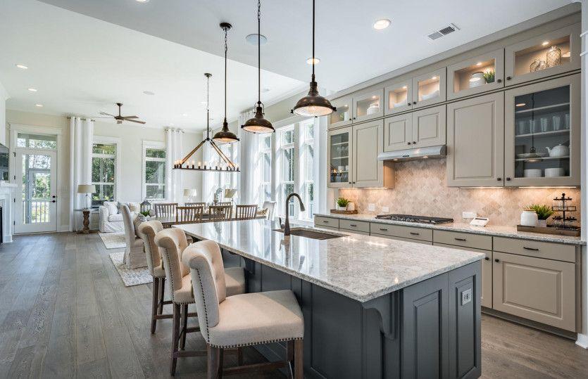 Kitchen featured in the Lanier By John Wieland Homes in Atlanta, GA