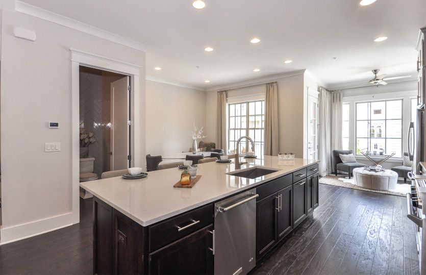 Kitchen-in-Bainbridge-at-Quad at Meeting Park-in-Marietta