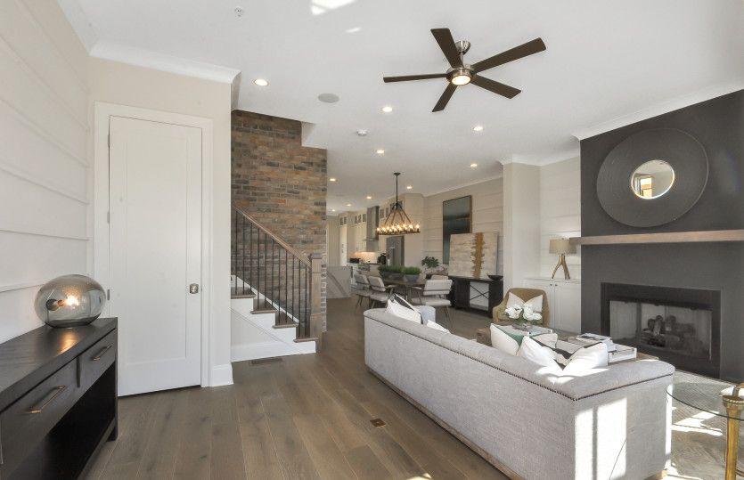 Living Area featured in the Bainbridge By John Wieland Homes in Atlanta, GA