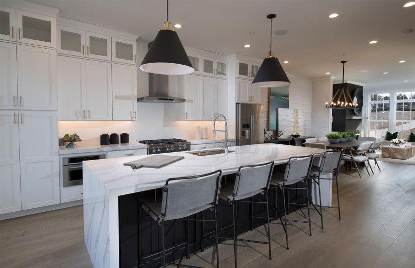 Kitchen featured in the Bainbridge By John Wieland Homes in Atlanta, GA