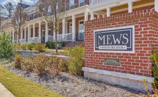 The Mews at North Decatur by John Wieland Homes in Atlanta Georgia