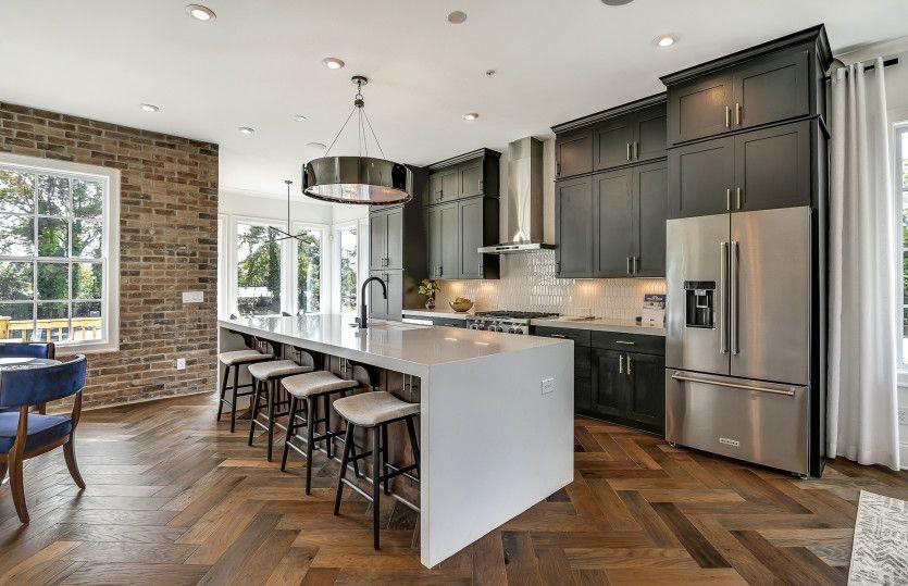 Kitchen featured in the Bainbridge 3 By John Wieland Homes in Atlanta, GA
