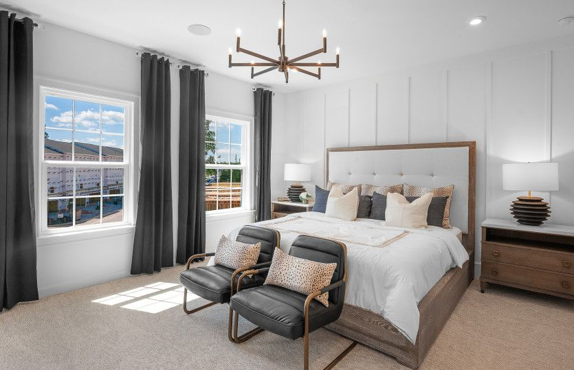 Bedroom featured in the Bainbridge 3 By John Wieland Homes in Atlanta, GA