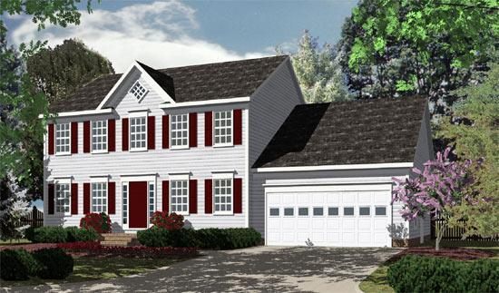 Exterior featured in the Webb (Lot Not Included) By Charleston Co. Homebuilders in Washington, VA