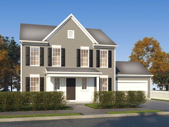 The Dryden:Estate Elevation