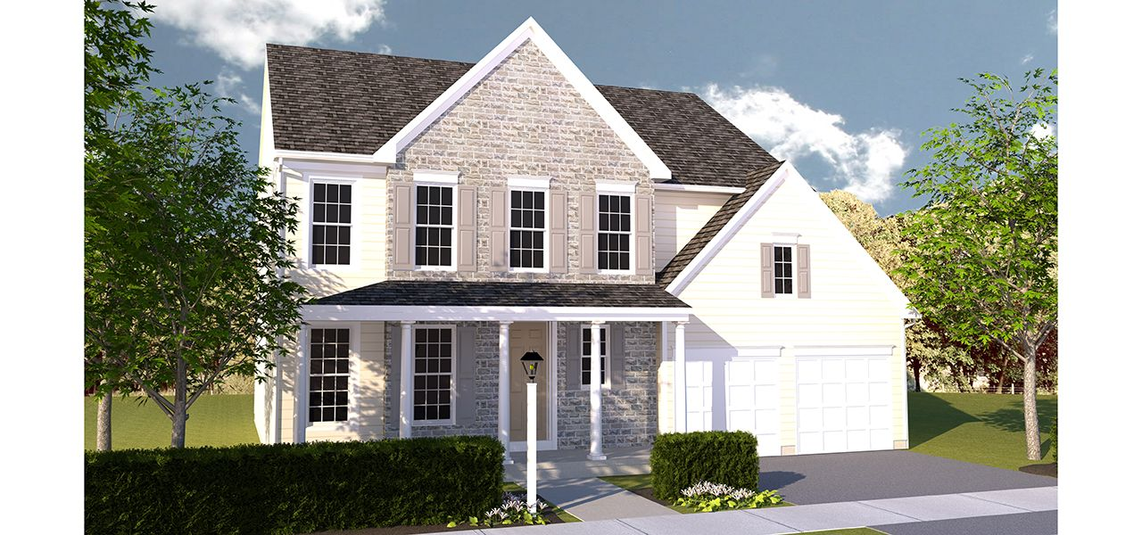 Davis home plan by charter homes neighborhoods in highlands Home builders central pa