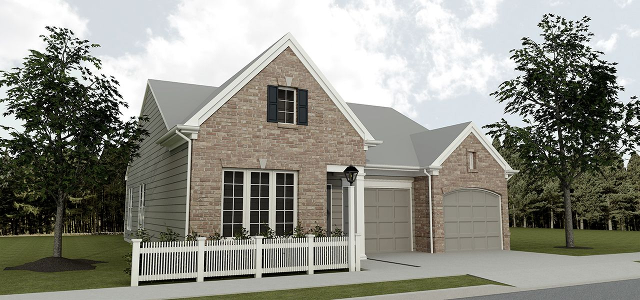 Hadley home plan by charter homes neighborhoods in Home builders central pa